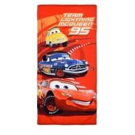 Plážová osuška Cars Team Lightning 95