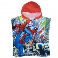 Pončo Spiderman - červené