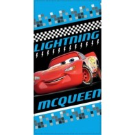 Plážová osuška Cars  Lightning MC Queen