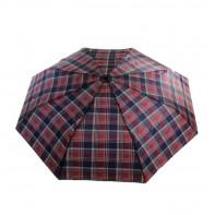 Skladací károvaný dáždnik