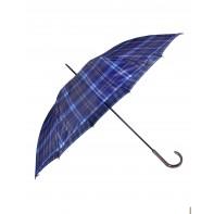 Dáždnik - modrý károvaný vzor
