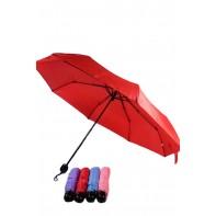 Dáždnik jednofarebný guľatá rúčka