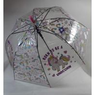 Detský dáždnik jednorožec 66cm