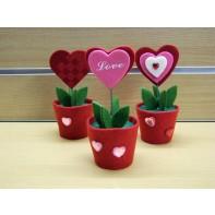 Kvetinka srdce - valentín