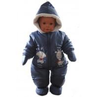 Detský overal - rukavice + papučky