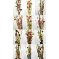 Sušené kvety 120 cm