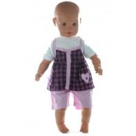 Detský komplet s krátkymi nohavicami