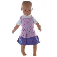 Detský komplet so sukničkou