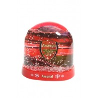 Arsenal snow guľa