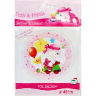 Detský balón - medvedík