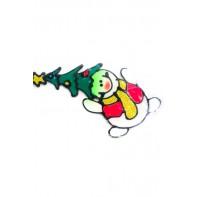 Vianočné nálepky na sklo, C-44-2505