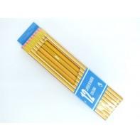 Ceruzky s gumou 12 kusov
