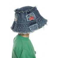 Detský klobúk riflový