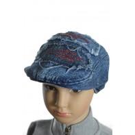 Detský baret - riflová