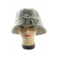 Dámsky klobúk - chlpatý