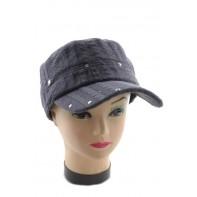 Dámska štýlová čiapka vybíjaná
