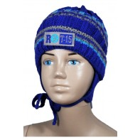 Detská čiapka- Fachowiec modrá