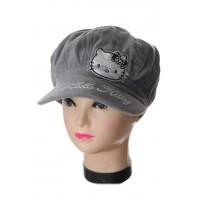 Baretková čiapka - Hello Kitty