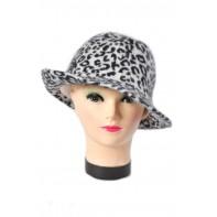 Dámsky klobúk chlpatý