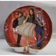 Papierové taniere veľké - HSM East, 10ks