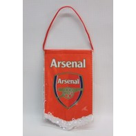 Vlajka Arsenal na zavesenie 16 x 10cm