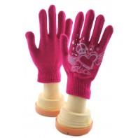 Dievčenské rukavice srdce