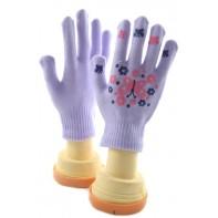 Dievčenské rukavice - motýľ