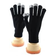 Rukavice pre dotykové displeje - Čierna farba