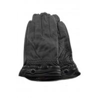 Dámske kožené rukavice - s opaskom