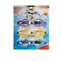 3x detské plavecké okuliare Intex Play 55612