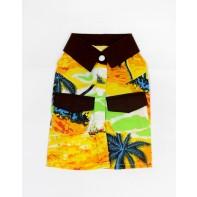 Havajská košeľa pre psíka