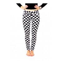 Nohavice dámske - karované