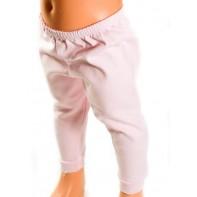 Detské kojenecké nohavice - jednofarebné, väčšie
