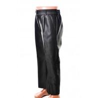 Detské oblekové nohavice - lesklé