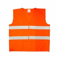 Reflexná vesta - oranžová