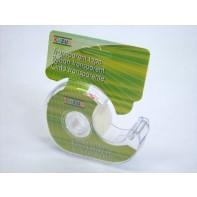 Transparentná lepiaca páska s dispenzorom
