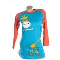 Detská nočná košeľa - Žirafa.