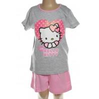 Pyžamo Hello Kitty - srdce love