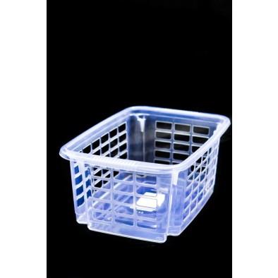 Priehľadný plastový košík malý 5,5 l