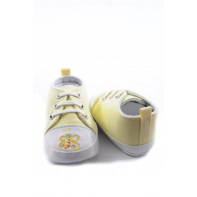 Kojenecké topánočky - motýlik