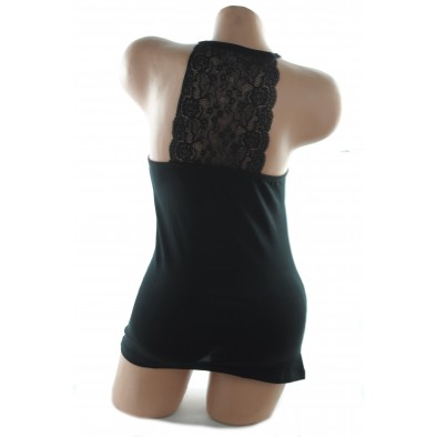 Dámske tielko - čipka na chrbte