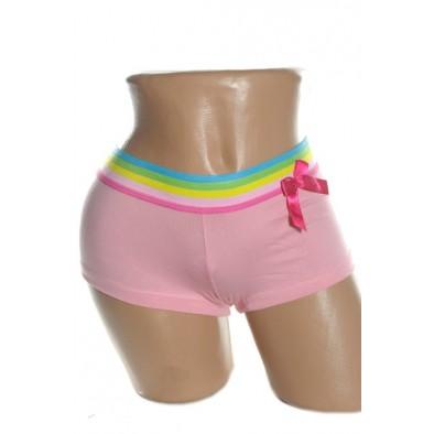 Dámske boxerky - dúhový pás