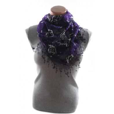 Dámska šatka - kvety
