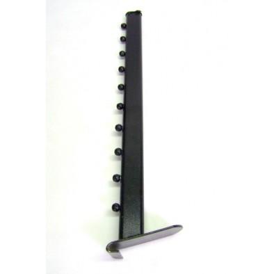 Chobot čierny s guličkami 52cm