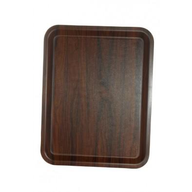 Protišmyková tácka - drevený vzor