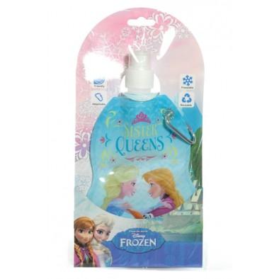 Fľaša s držiakom Frozen + darček, C-44-830529