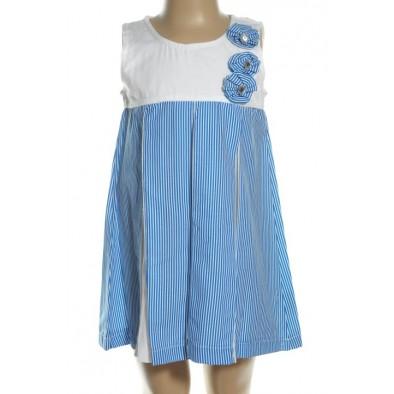 Detské pásikavé šaty
