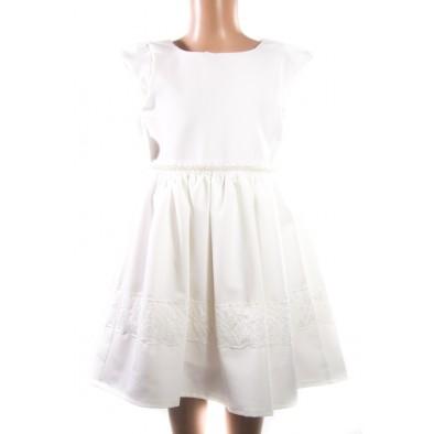 Detské šaty s perličkami