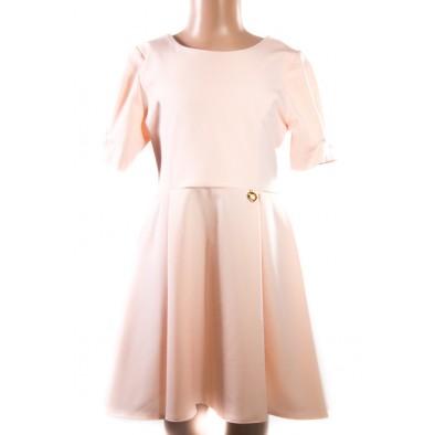 Dievčenské šaty s mašľou vzadu