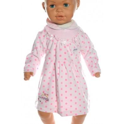 Detské šaty bodkované, C-15-8304